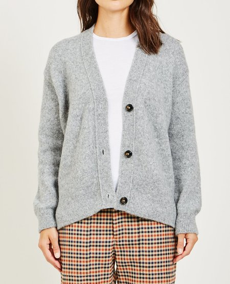 Closed The Women's KNIT - GREY HEATHER