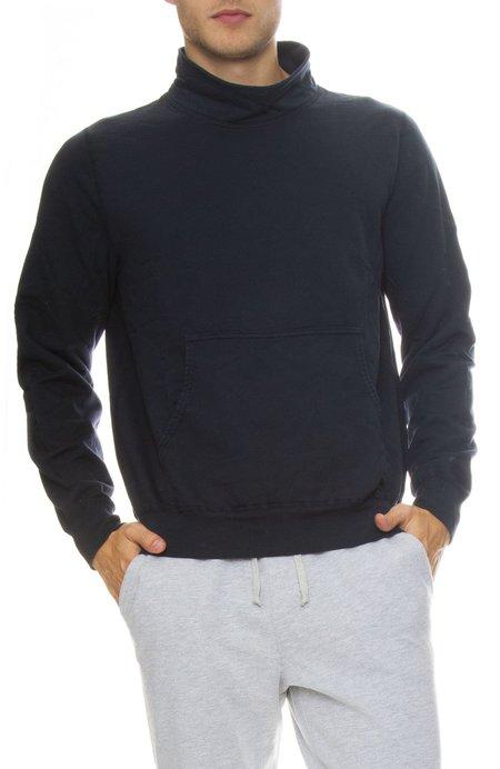 Save Khaki Supima Fleece Mock Neck Sweatshirt
