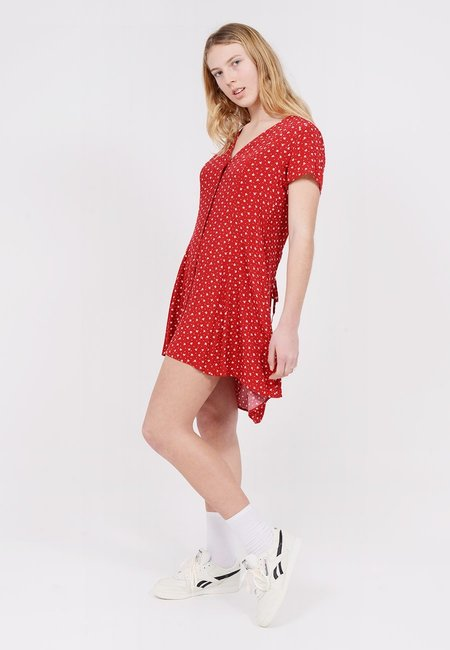 Rollas Milla Dress - Rouge Dandelion