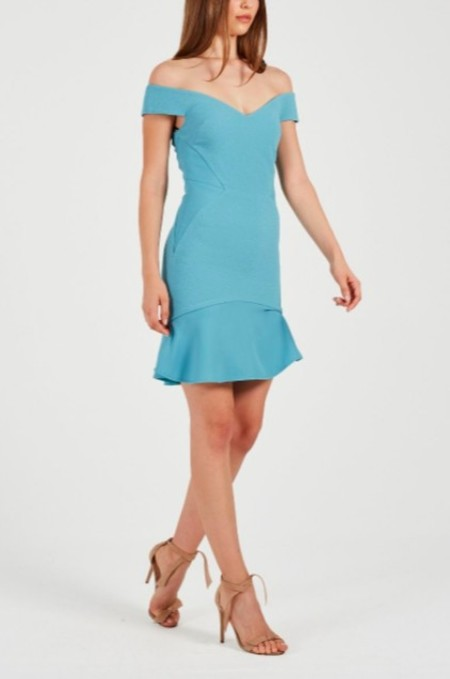 Rebecca Vallance Anise Mini Dress - Stillwater