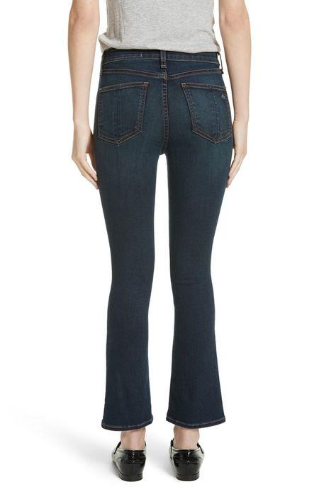 Rag & Bone Hana Bedford Jeans - Dark Wash