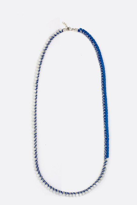 Orly Genger by Jaclyn Mayer Lilli Necklace - Moonstone/Glass