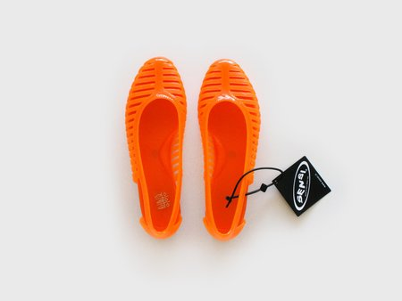 Sensi Ballerina Jelly Shoes - Orange