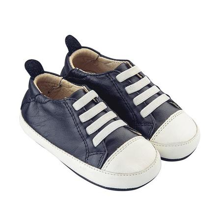 KIDS Old Soles Baby Eazy Tread Shoes - Navy/White