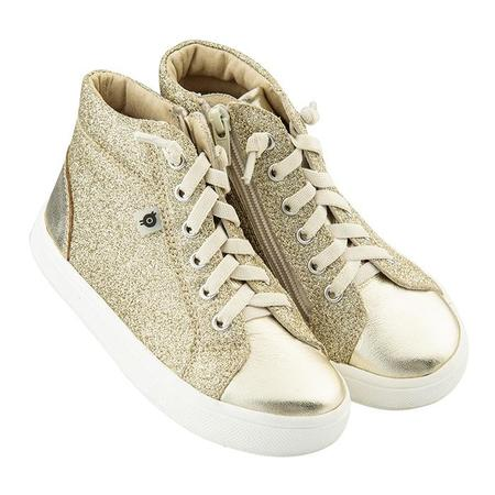 KIDS Old Soles Child Ring Shoes - Glam Gold