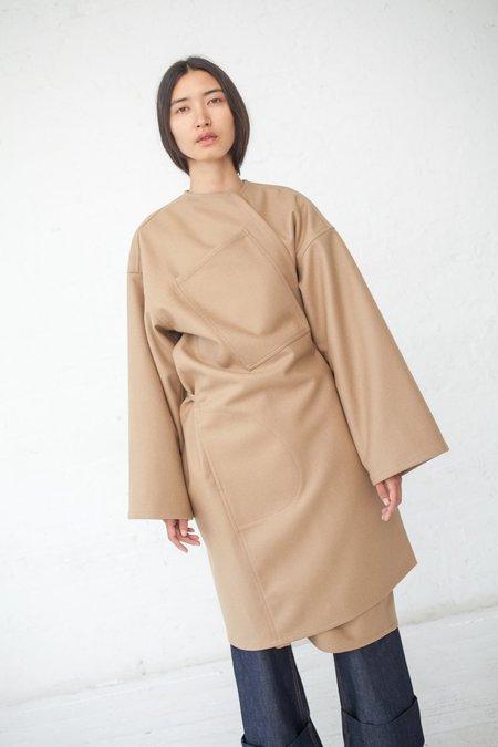 Sofie D'Hoore Carol Felted Wool Coat - Cork