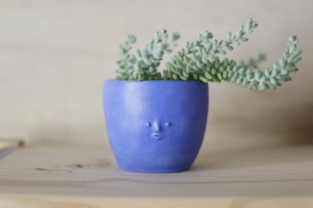Rami Kim Mini Face Pot - Blue