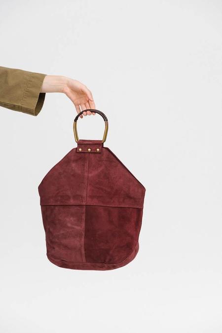 Rachel Comey Holden Bag - Burgundy Suede