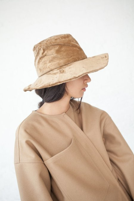 Reinhard Plank Tom Velour Hat - Camel