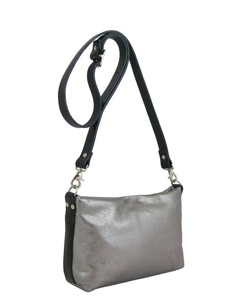 Kate Sheridan Leo Bag - Gunmetal
