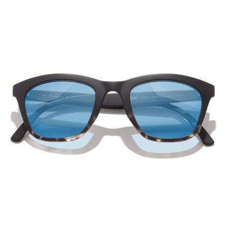 Unisex Sunski Manresa Sunglasses - Black/Tortoise/Aqua