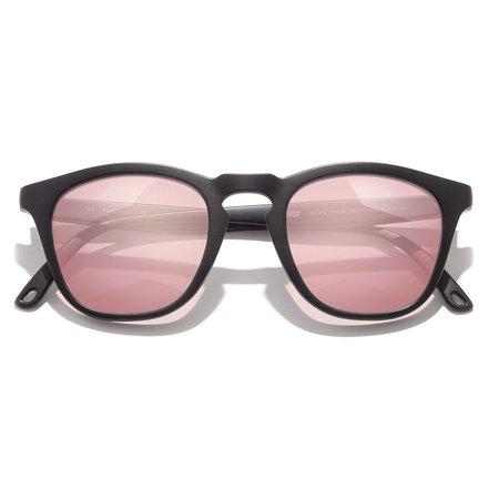Unisex Sunski Portola Sunglasses - Black/Rose