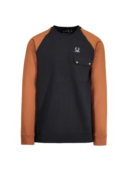 Raf Simons X Fred Perry Colourblock Sweat