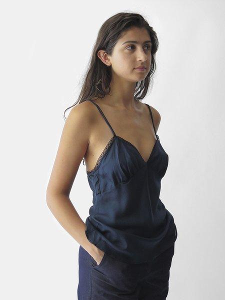 Erica Tanov Gilda Camisole - Navy