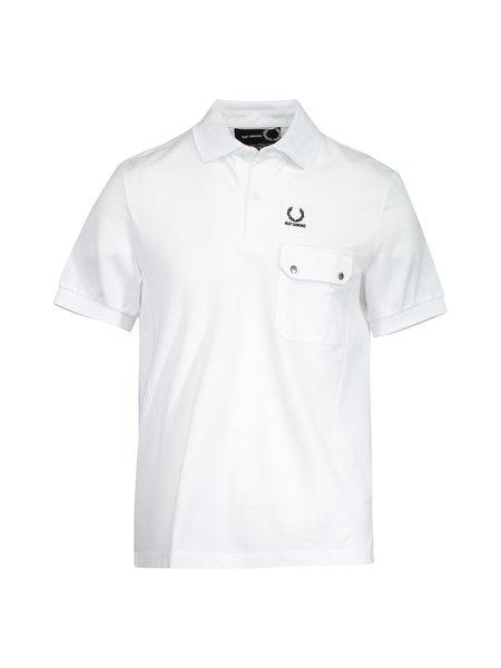 Raf Simons X Fred Perry Pocket Detail Pique Shirt