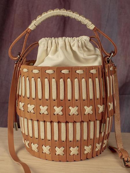Hatori Baket Bag - Natural/Cream