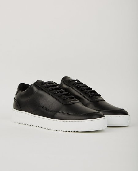 Filling Pieces NARDO NAPPA SNEAKERS - BLACK