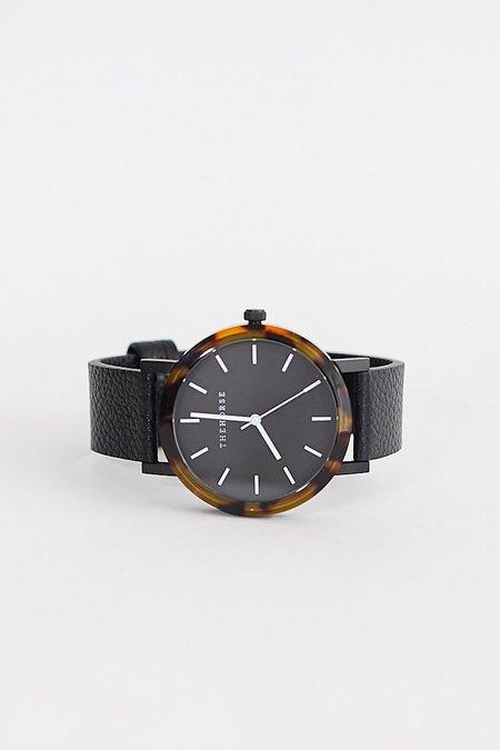 The Horse Resin Watch - Tortoise/Black