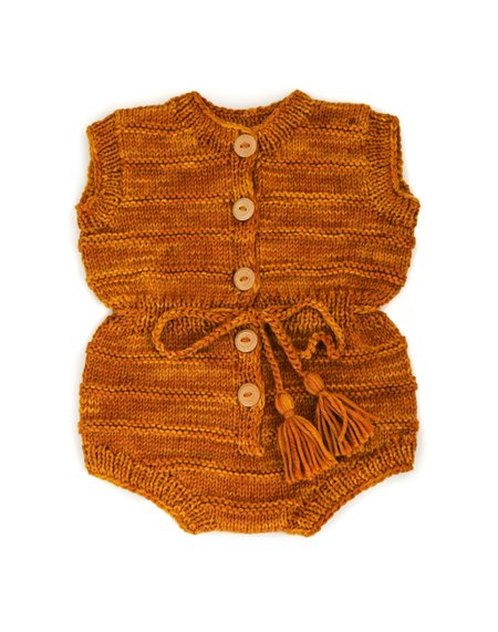 Kids Kalinka Mira Playsuit - Gold
