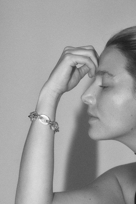 Hernán Herdez Crystal Bracelet - Sterling Silver/Clear Quartz