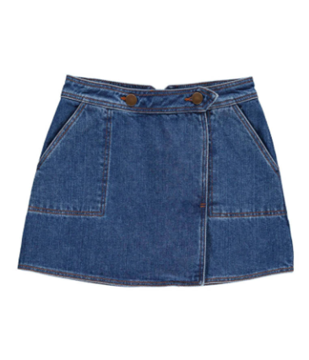 KIDS Hundred Pieces Denim Skirt