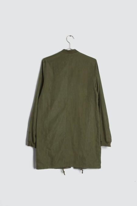 All Row Foggy Sf Nights Jacket - Olive