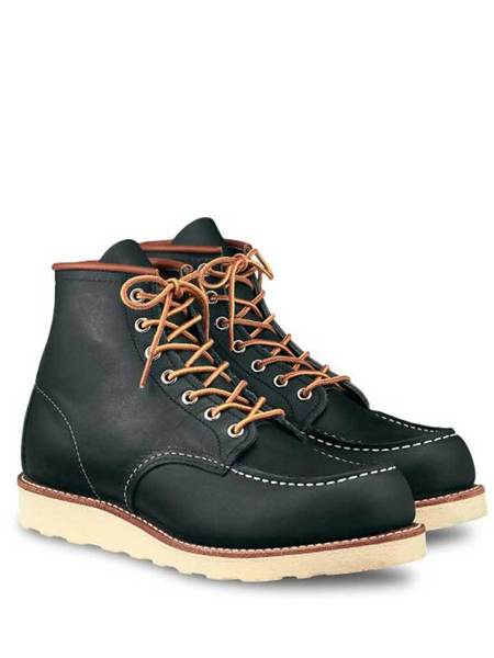 Redwing 8859 Moc Toe Boots - Navy