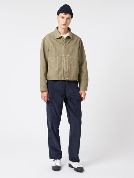 Story Mfg Sundae Denim Jacket - GREEN
