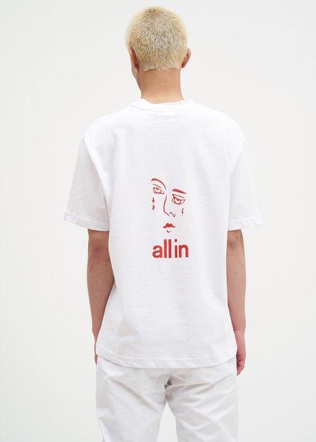 all in Jacknave T-Shirt - White