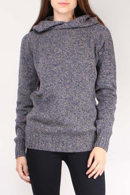 Ma'ry'ya Hoodie Sweater - Navy
