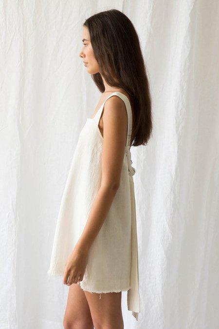 Marle Newton Dress - Ivory