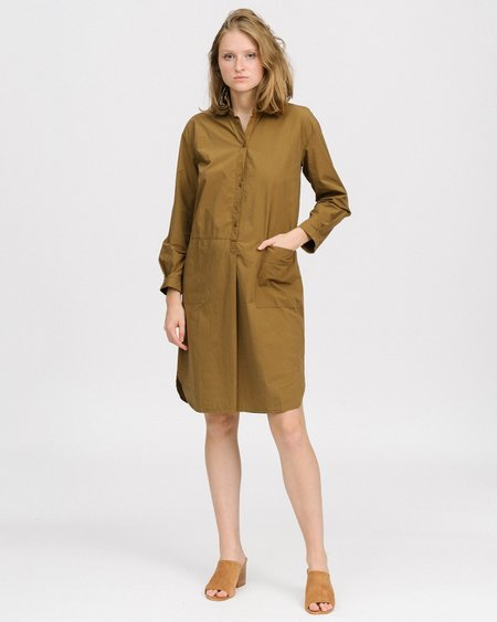 HUMANOID Frenzo dress shirt - mud