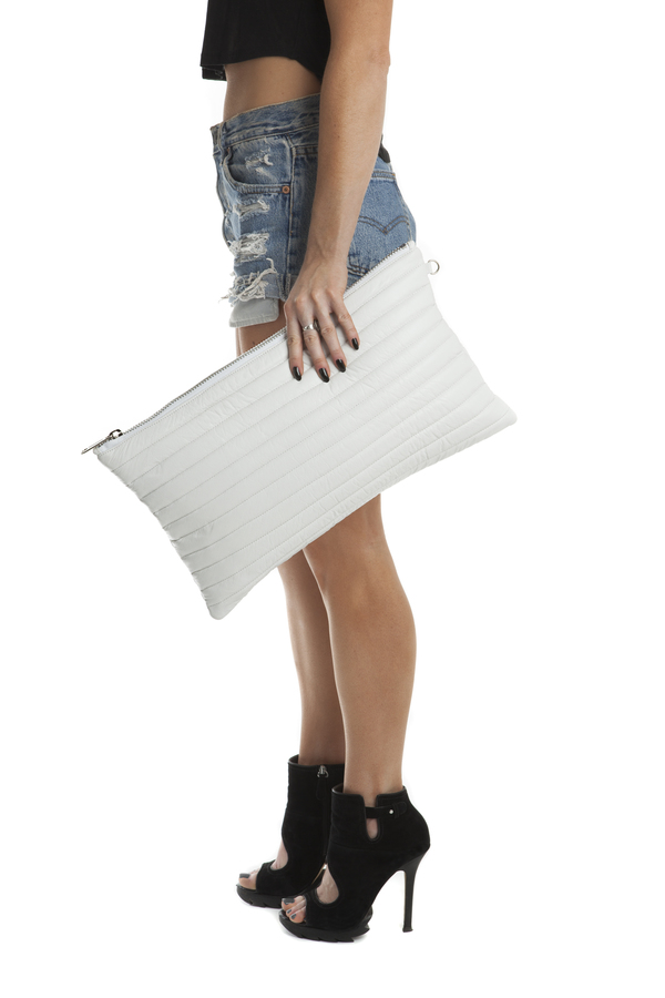 Mary Rich Quilted Clutch (FW13)