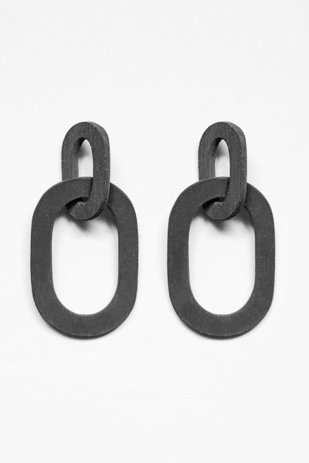 Eny Lee Parker Camila Earrings - Black