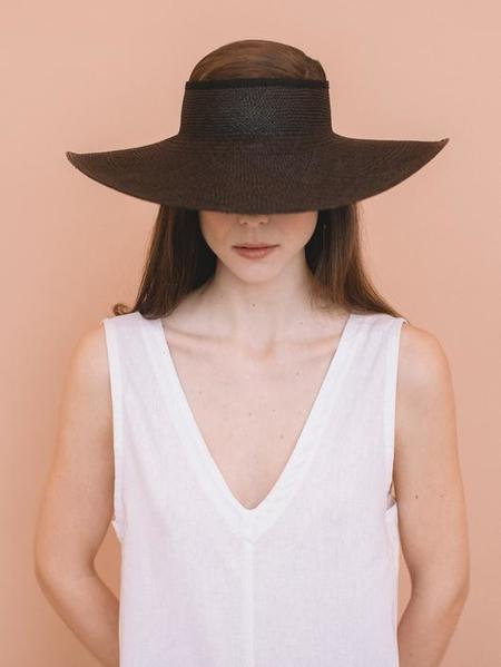 Brookes Boswell Monarch Hat - BLACK