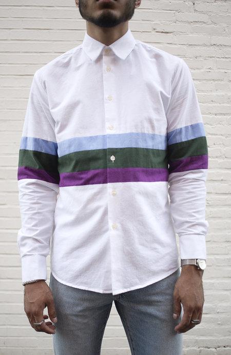 Soulland Santiago Shirt - White Stripe
