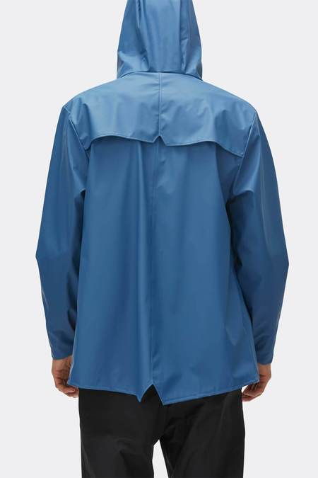 UNISEX Rains Jacket - Faded Blue
