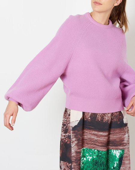 Demy Lee Sabrina Sweater - Lavender