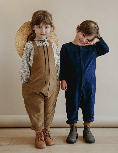Unisex Kids Petits Vilains Axel Coveralls - Khaki