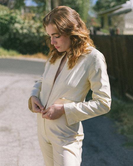 Sisterwife Vintage Christian Lacroix Silk Suit