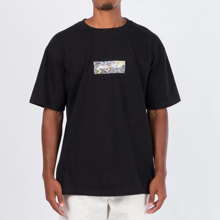 MEDICOM TOY Sync x Jackson Pollock Studio Logo T-shirt - Black