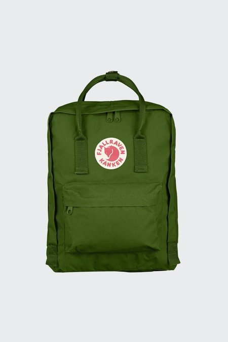 Unisex Fjallraven Kanken Backpack - Leaf Green