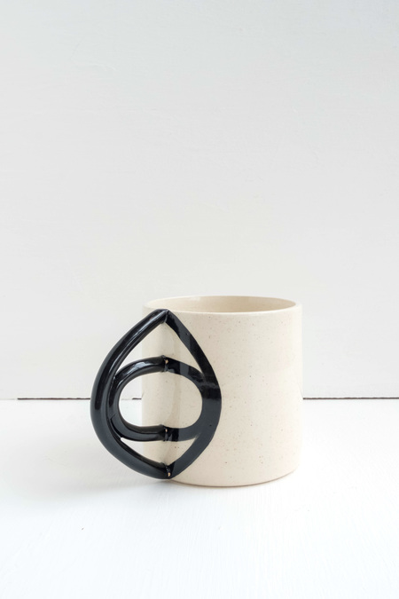 Meha Ceramics Eye Handle Ceramic Mug