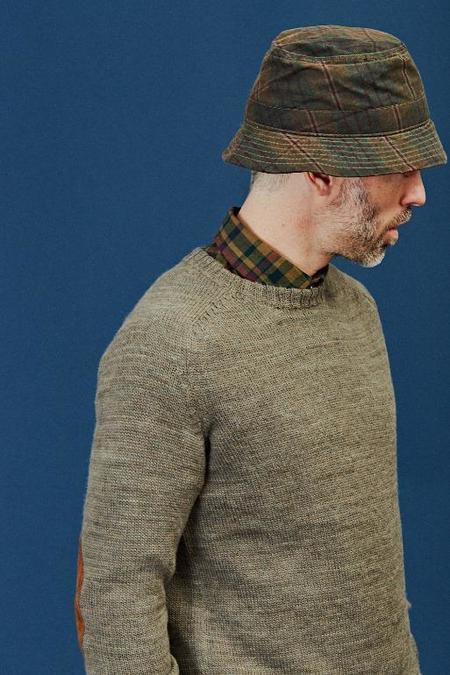 Corridor Wax Bucket Hat - Plaid