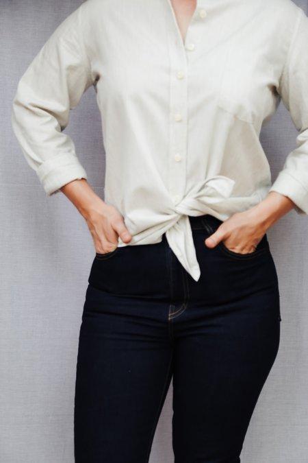 Tradlands Jessica Button-Down Shirt - Grey
