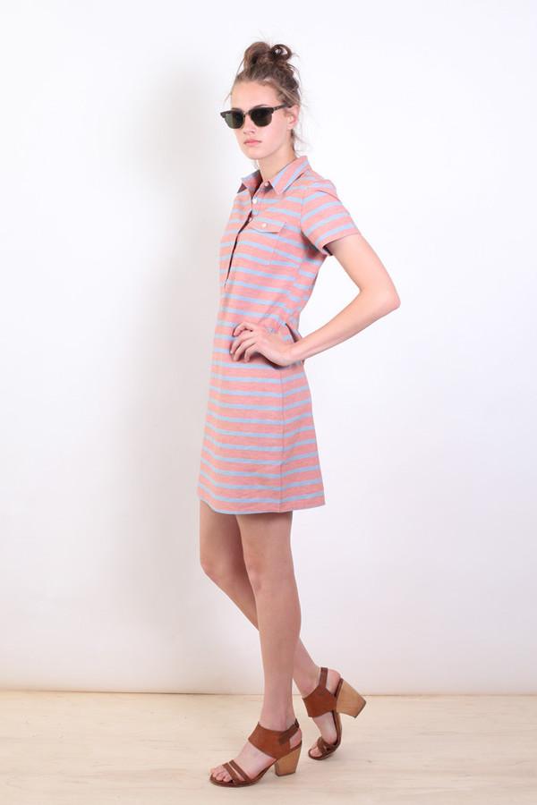 Bridge & Burn Rae Stripe  Collared Dress
