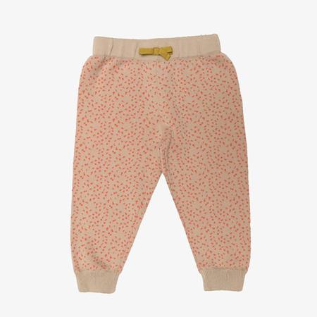 Kids Micaela Greg Twine Sweatpant - Coral Dot