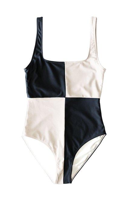 Botanica Workshop Rika Swimsuit - Shell/Black