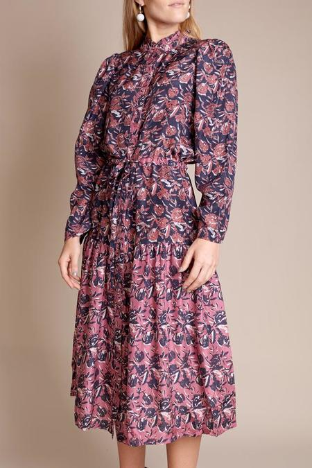 Apiece Apart Mrijin Dunegrass Dress - Multi Floral