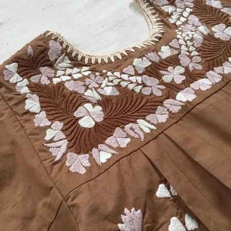 Kids Apolina Pattie Dress - Fawn
